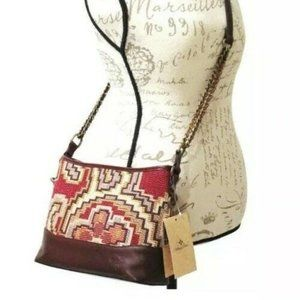 Patricia Nash Crossbody Bag Peruvian Tapestry
